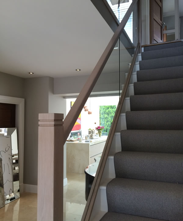 Glass Banisters Dublin Ireland Bannisters Woodstyle Ie